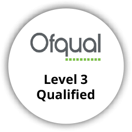 Ofqual Level 3 Qualified